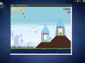 AriOS 3.0 Chromium Angry Birds