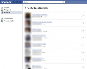 Facebook Handy-Debakel
