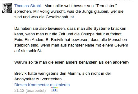 Thomas Strobl Anonymous