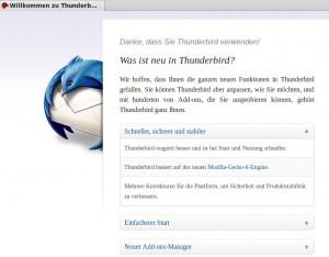 Mozilla Thunderbird 6