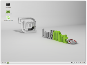 Linux Mint Debian Edition (LMDE)