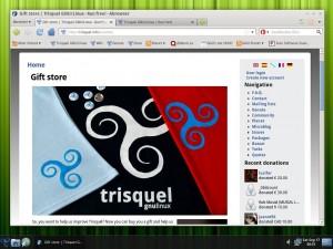 Trisquel 5.0 Browser