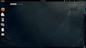 Fedora 16 Dashboard