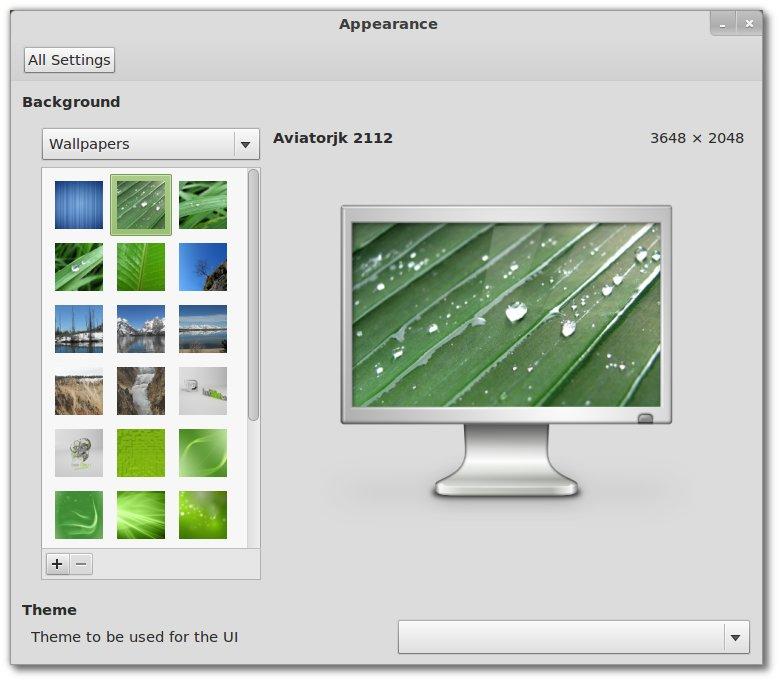 Linux Mint 12 Hintergründe