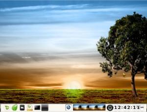 Bodhi Linux 1.3.0 Theme Sunshine