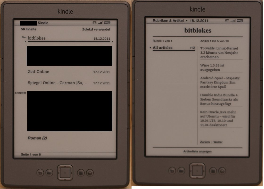 Kindle Bitblokes News