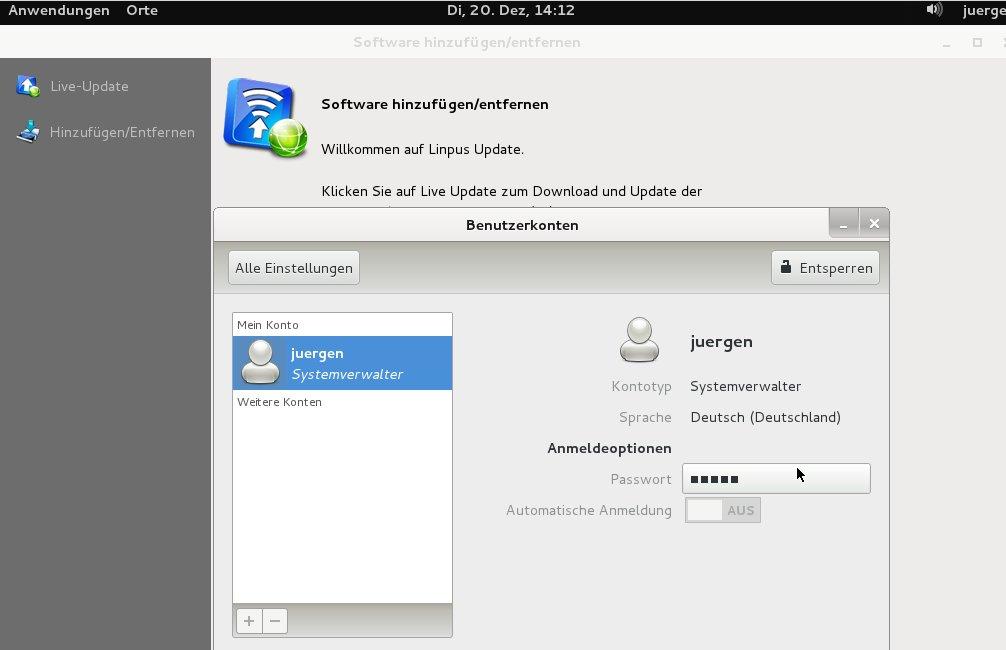 Linpus Linux Lite 1.6 Deutsch
