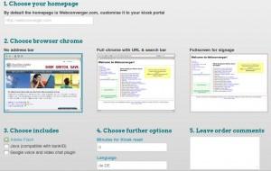 Webconverger anpassen