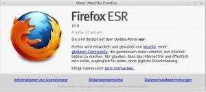 Firefox 10.0 ESR