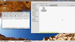 Linux Mint 12 Lisa neuen Starter erstellen