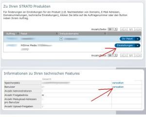 rsync for Android Strato HiDrive Kundennummer verwalten