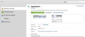 Thunderbird 10.0 OpenSearch 1.1