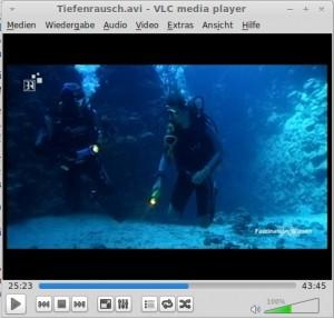 VLC 2.1 Rincewind GUI
