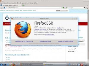 Mageia 2 KDE Firefox