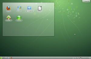 openSUSE 12.2 KDE Desktop