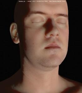 WebGL Skin Rendering
