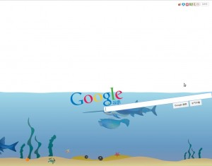 Google Unterwassersuche