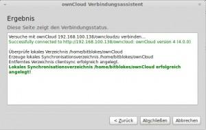 ownCloud Sync-Client