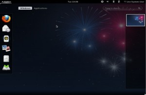 Fedora 17 Dashboard