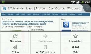 Firefox 14 für Android