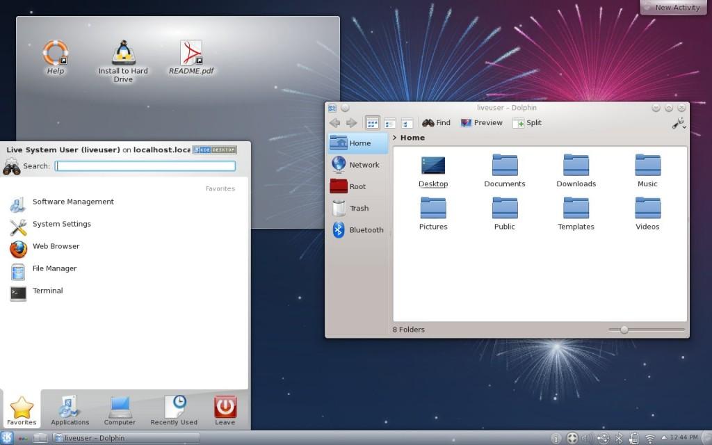 Kororaa 17 Desktop KDE
