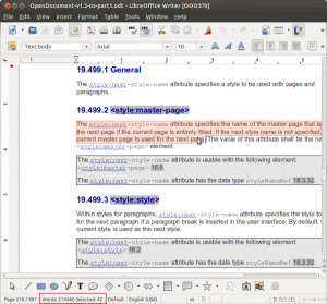 LibreOffice 3.6 Wörter zählen