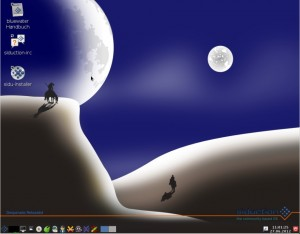 siduction 2012.1.1 LXDE-Desktop