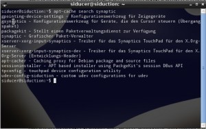 siduction 2012.1.1 Synaptic installieren