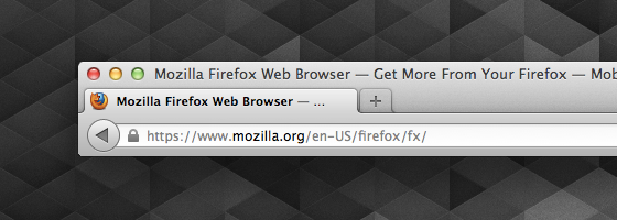 Firefox 14 Identitäts-Anzeige SSL