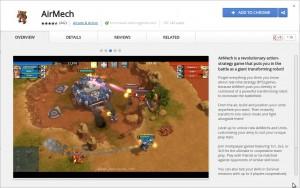 Chrome-Spiel: AirMech