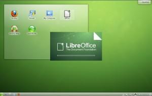 openSUSE 12.2 KDE LibreOffice
