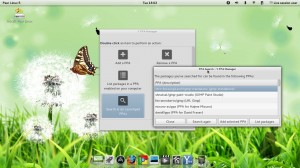 Pear Linux 5: Y PPA Manager