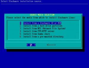 Slackware 14.0 installieren