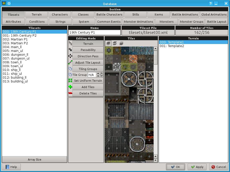 OpenRPG Maker: Tilesets (Quelle: openrpgmaker.sourceforge.net)