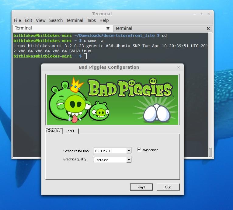 Bad Piggies unter Linux: Lässt sich installieren