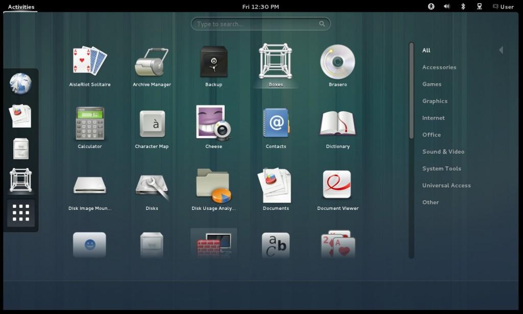 GNOME 3.6: Mit der Live-CD spielen