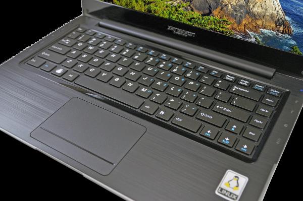 ZaReason UltraLap 430 Tastatur (Quelle: zareason.com)