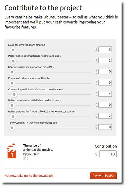 Für Ubuntu spenden (Quelle: jonobacon.org)