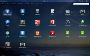 Pear Linux: Launchpad