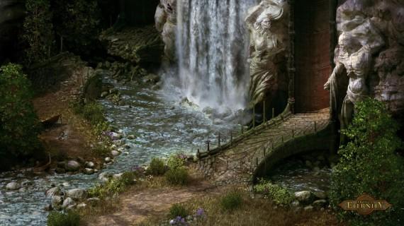 Project Eternity: Tempel-Eingang (Quelle: kickstarter.com)