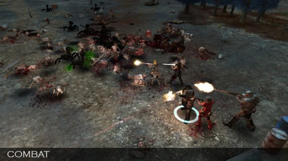 Forsaken Fortress: Kampf (Quelle: kickstarter.com)