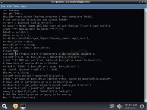 Redo 1.0.4: redobackup-Script