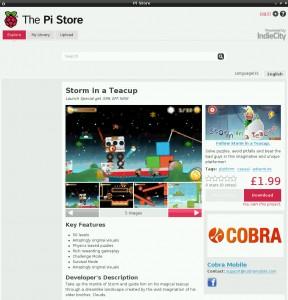 Pi Store (Quelle: raspberrypi.org)