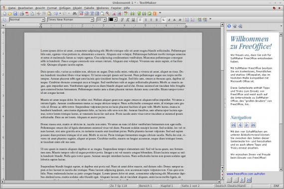FreeOffice: TextMaker