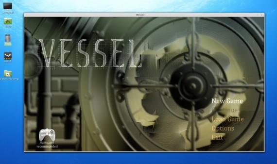Vessel für Linux: Neues Spiel?
