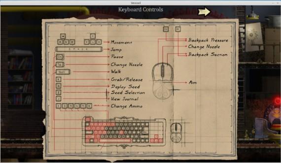 Vessel für Linux: Gamepad empfohlen, geht auch mit Tastatur