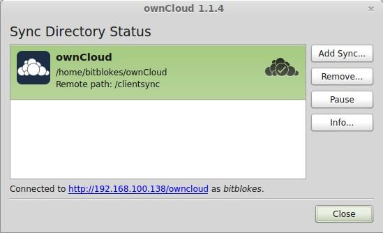 ownCloud-Client 1.1.4