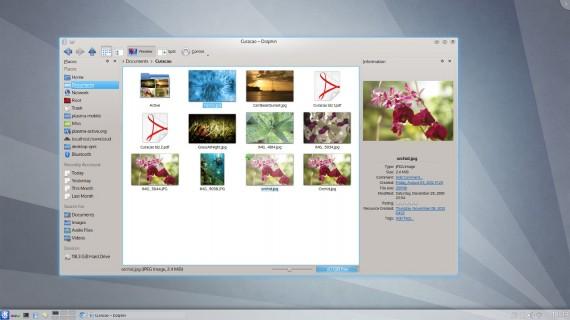Ausblick auf KDE 4.10 (Quelle: kde.org)