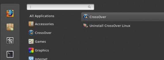 CrossOver 12: Alle hinter einer Schaltfläche