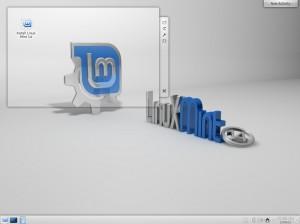 Linux Mint 14 KDE: Desktop